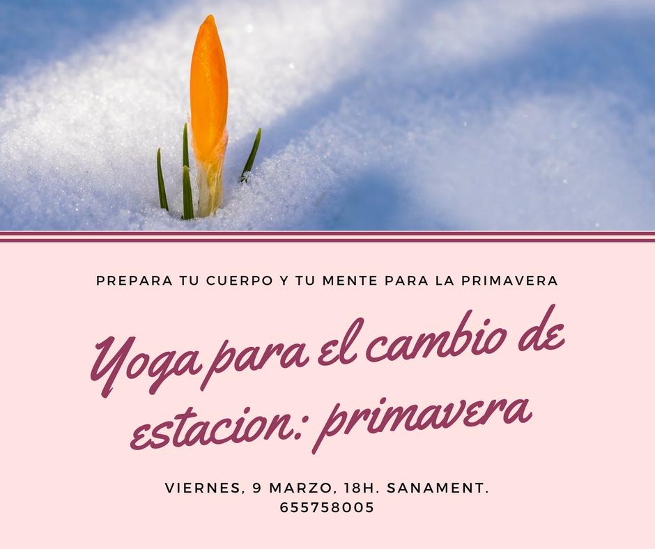 Yoga cambio